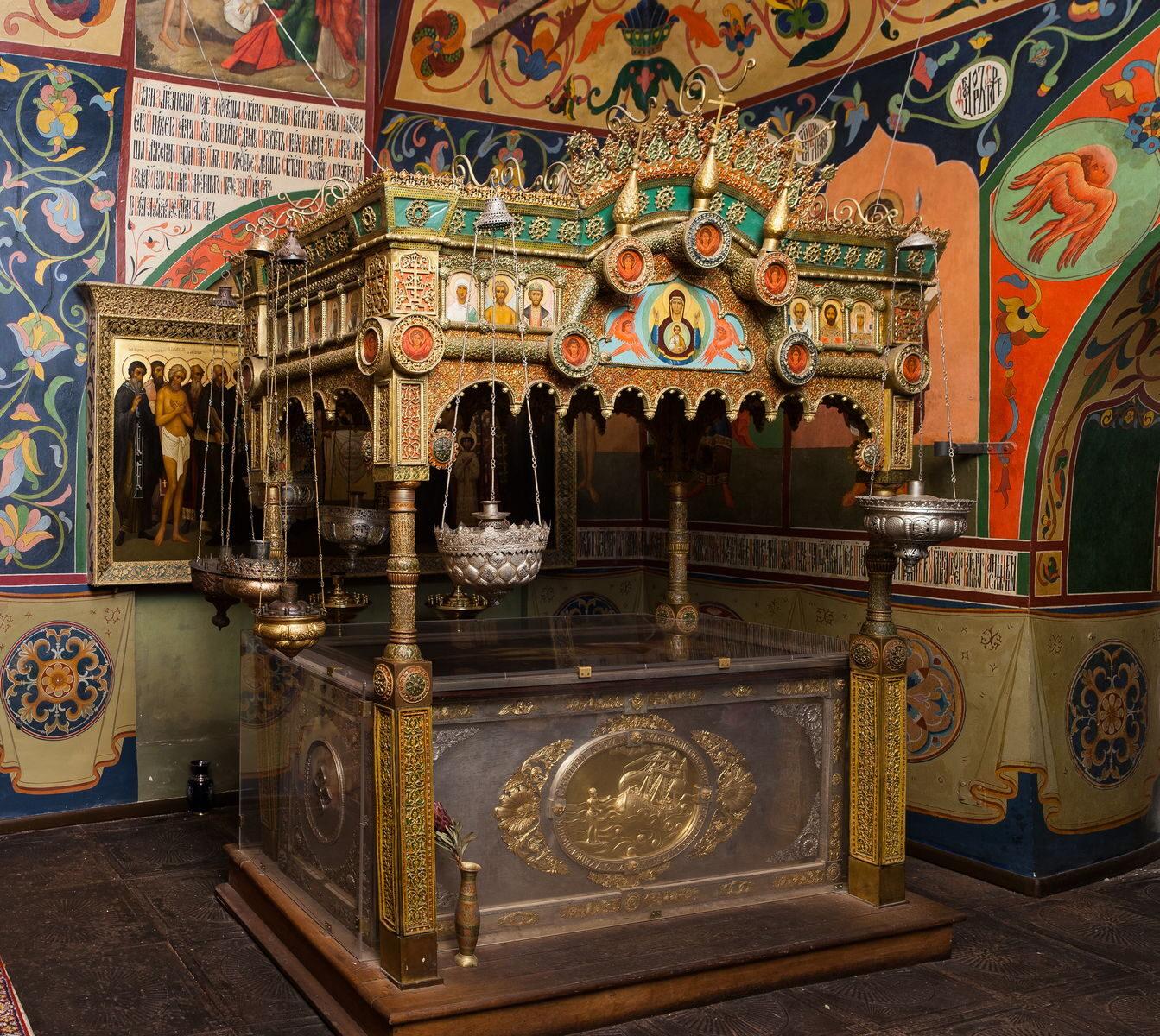 Рака святого Василия Блаженного