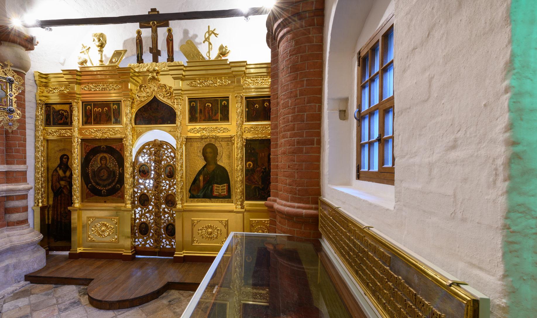 Интерьер церкви святого Иоанна Блаженного