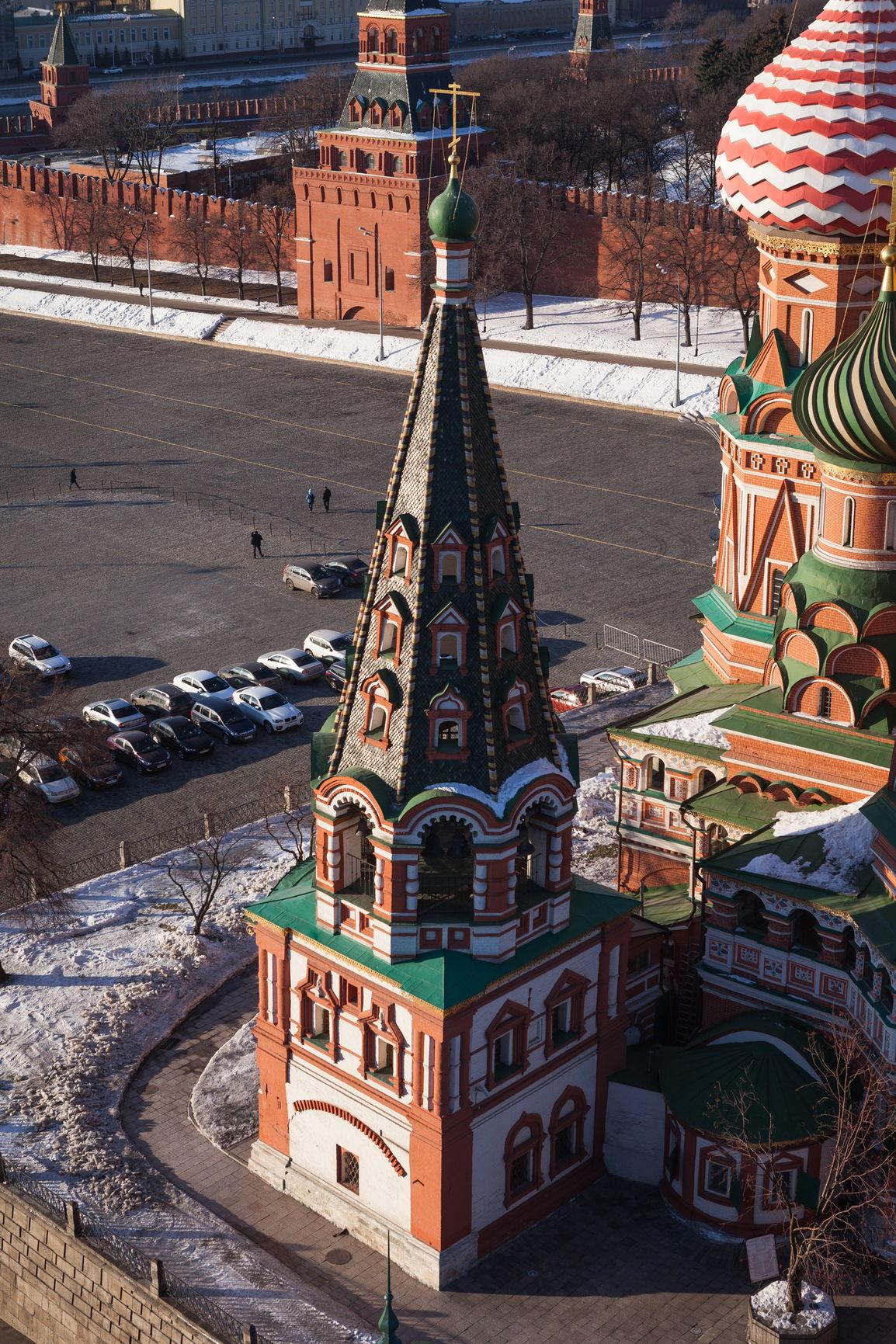 Колокольня Покровского собора