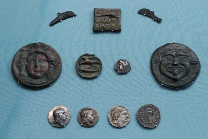 Монеты Ольвии (из коллекции П.О. Бурачкова)