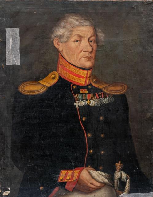 Неизвестный художник Портрет Ивана Михайловича Туринцева. 1820-е гг. Холст, масло 89х69,5 см Публикуется впервые в цвете
