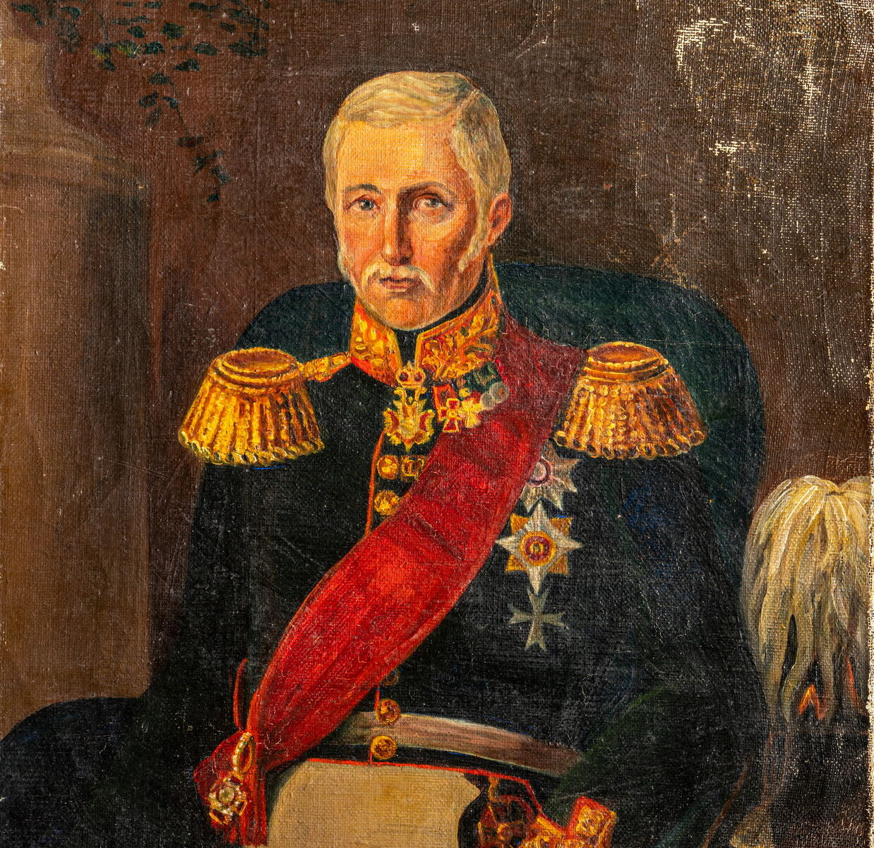 Неизвестный художник Портрет Александра Христофоровича Эйлера Не ранее 1846 г. Холст, масло. Публикуется впервые