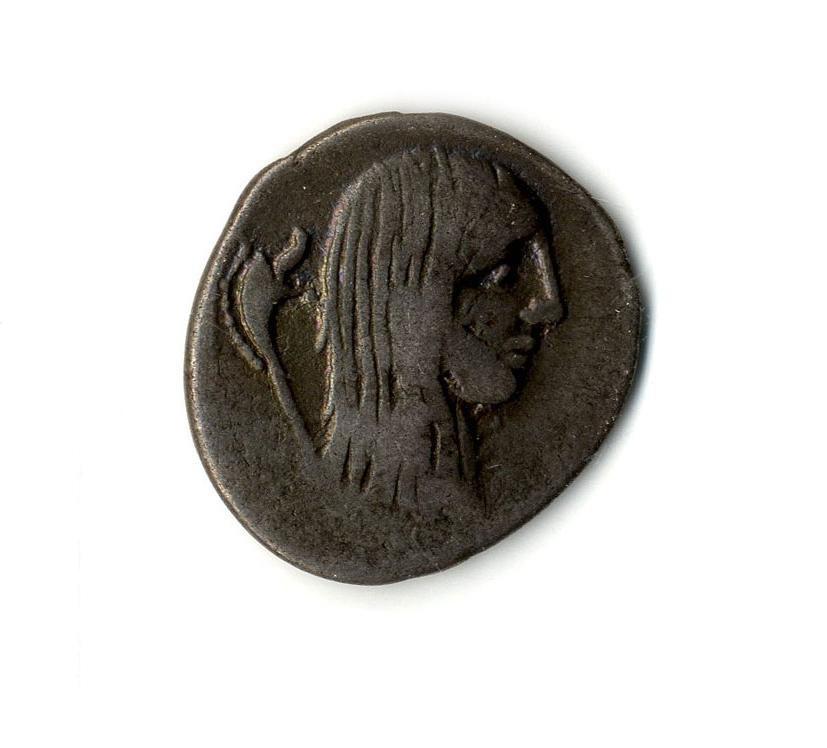 Римская республика. Денарий. 48 г. до н.э.