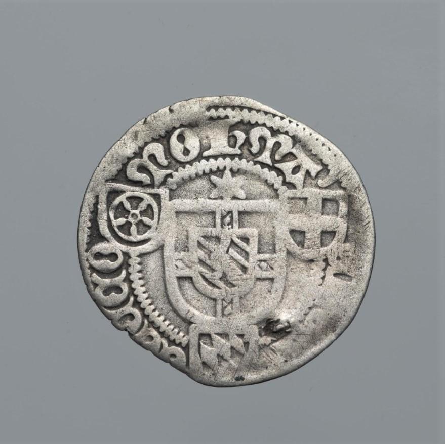 Священная Римская империя, Кёльнское архиепископство. Герман фон Вид (1515–1547). Шиллинг 1518 г. Серебро, чеканка