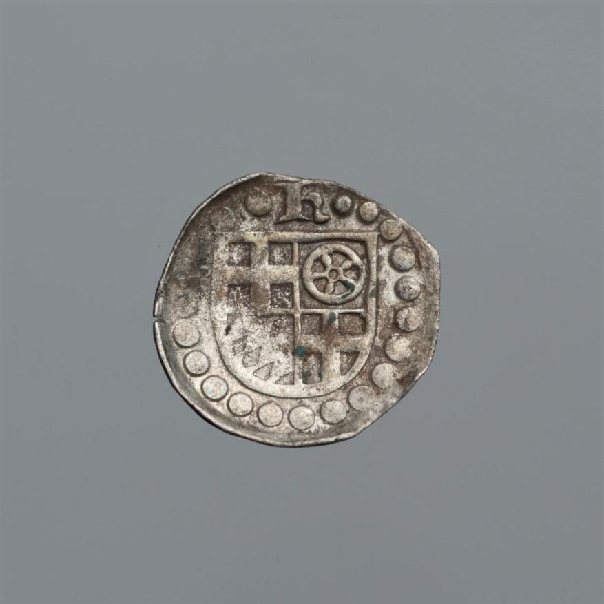 Священная Римская империя, Кёльнское архиепископство. Герман фон Вид (1515–1547). Пфенниг без даты. Серебро, чеканка