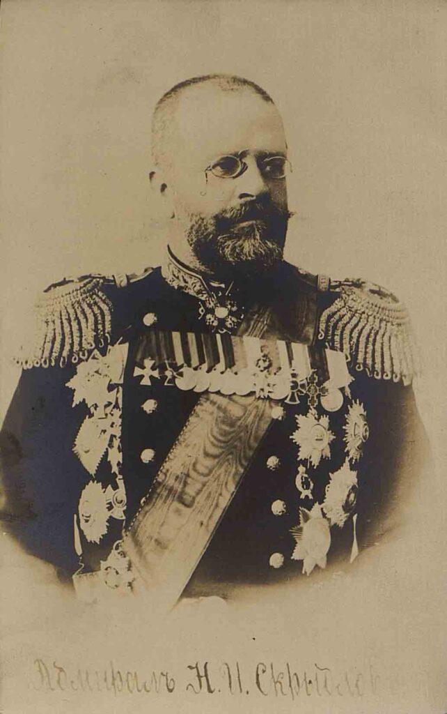 Скрыдлов Николай Илларионович (1844 – 1918). Начало XX в. Фототипия. ГИМ